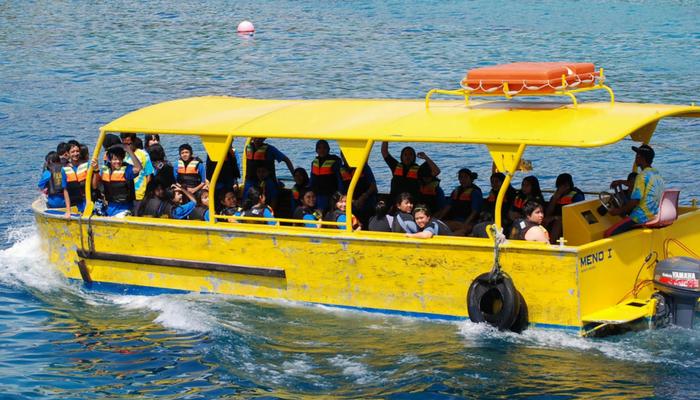 Lembongan Village Tour Bounty Cruise