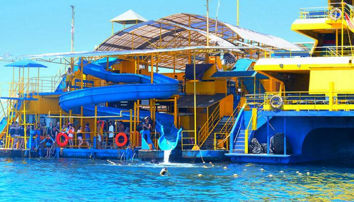 Bounty Cruise Water Slide