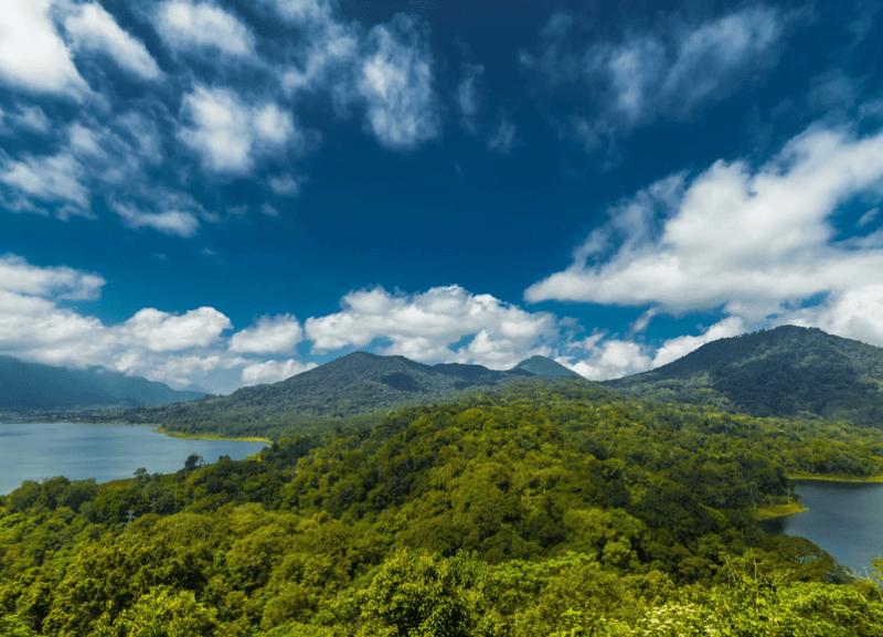 Buyan and Tamblingan Lake Bali