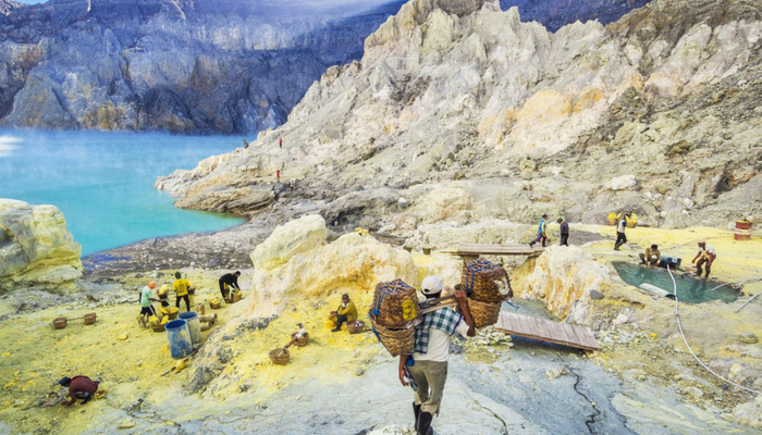 Ijen Mountain East Java Island